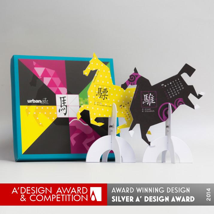 2014 the year of horse calendar design creative desktop calendar