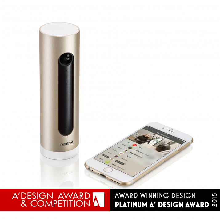 home product design. DESIGN DETAILS Netatmo Welcome Indoor Home Security Camera