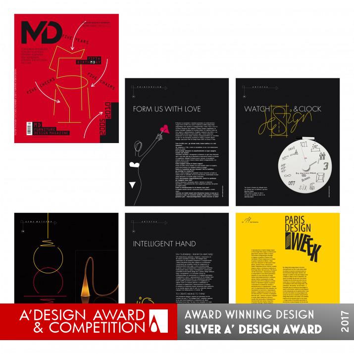 md furniture design magazine graphic layout. Black Bedroom Furniture Sets. Home Design Ideas
