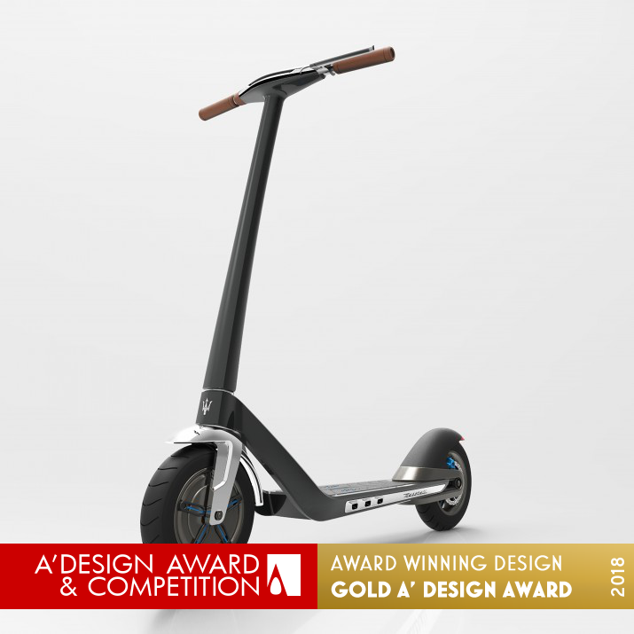 Garage Design Contest By Maserati: E Scooter Electric Vehicle