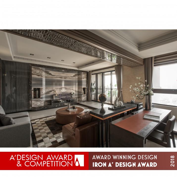 Award Winning Green Home Designs: Sunshine Warm Green House Interior Design