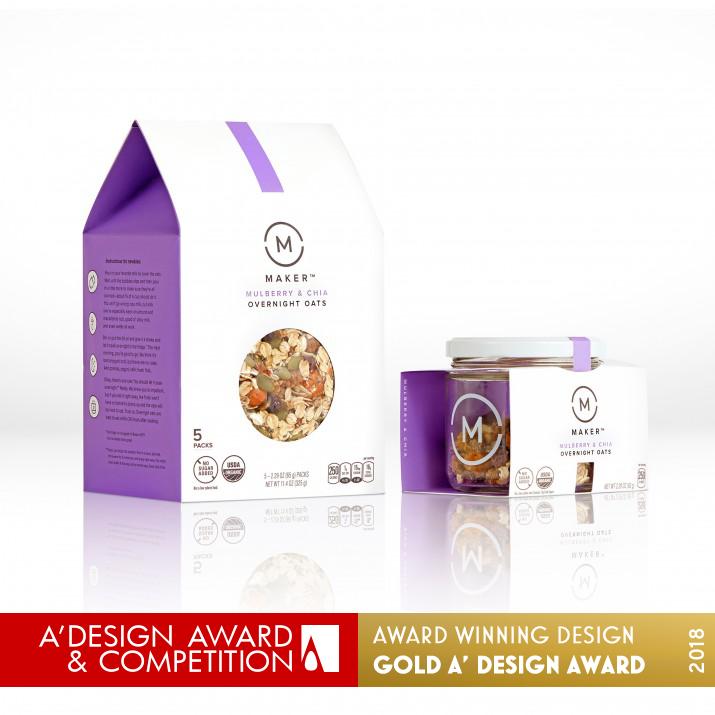 maker oats brand packaging