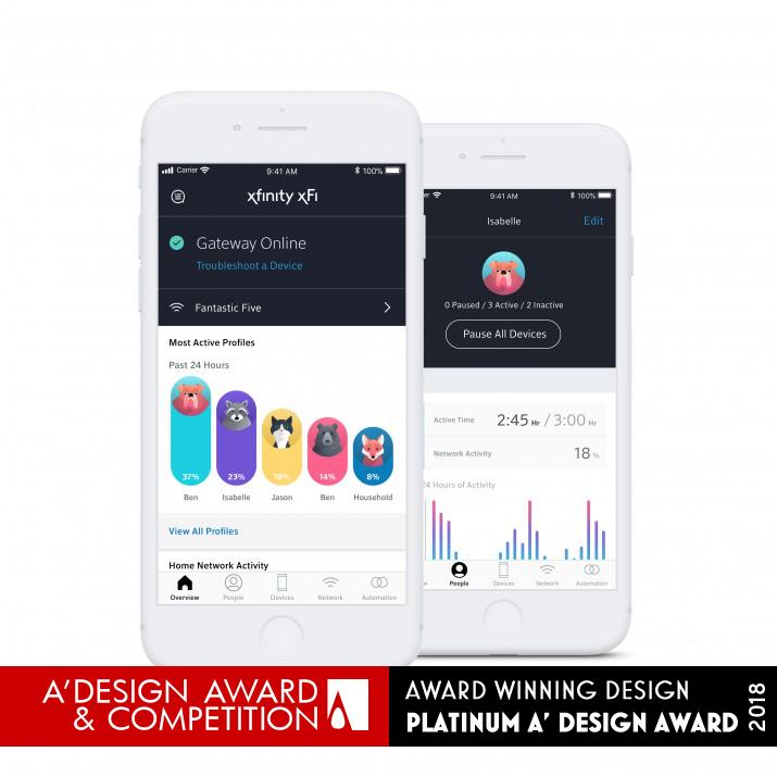 Xfinity xFi Mobile Application