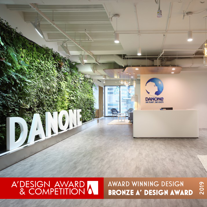 A Truly Sustainable Asian Hub Danone Office Design