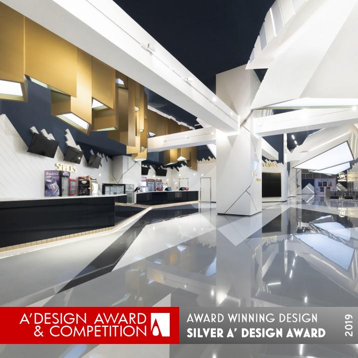 Beauty Of Deconstructivism Ua Cinemas Interior Design