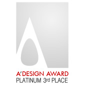 Platinum A' Design Award (3rd Place)