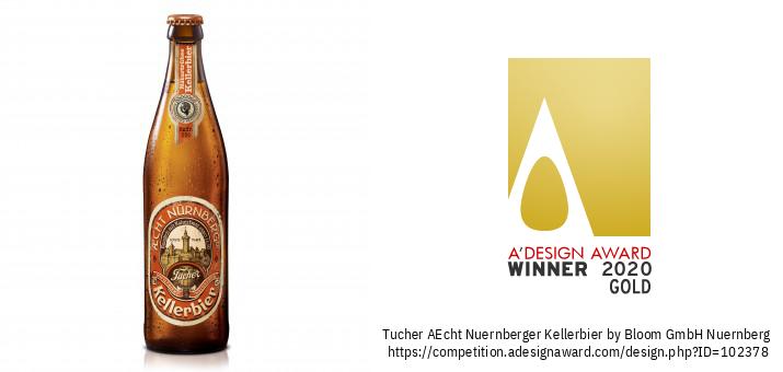 AEcht Nuernberger Kellerbier Beierse Bierverpakkingsontwerp