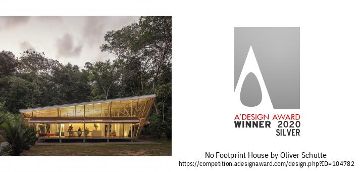 No Footprint House Dzīvojamo Ēku Prototips