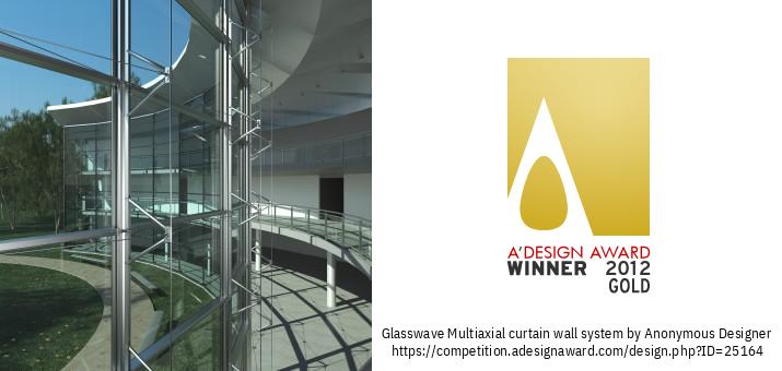 GLASSWAVE Sistem Dinding Tirai Multiaaksial
