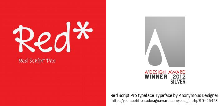 Red Script Pro typeface Tipus De Lletra
