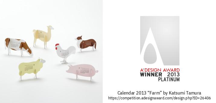 "calendar 2013 ""Farm"" Kalenda"