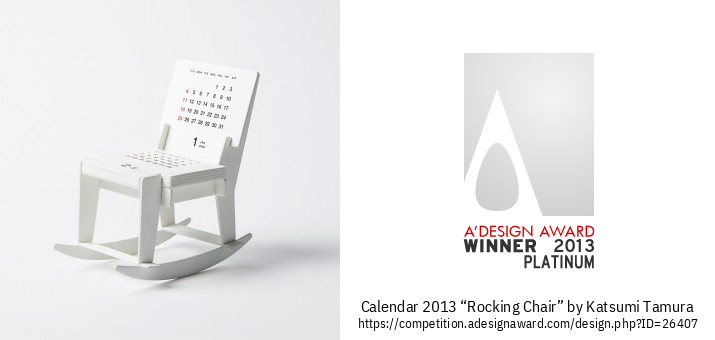 "calendar 2013 ""Rocking Chair"" Dagatal"