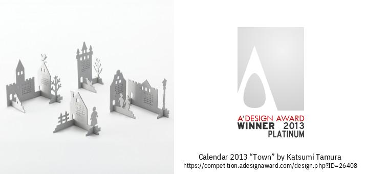 """calendar 2013 """"Town"""" Kalendaro"""