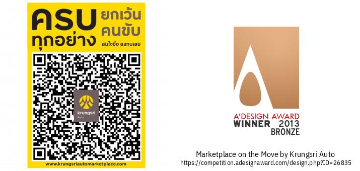 Marketplace on the Move Stiker Tal-Kodiċi Qr