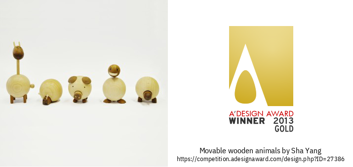Movable wooden animals Xoguete