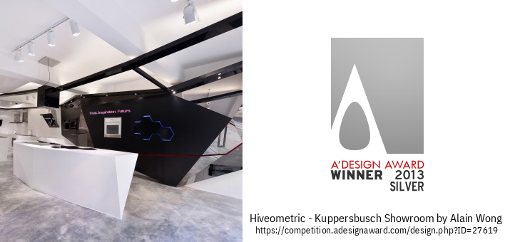 Hiveometric - Kuppersbusch Showroom रिटेल इंटीरियर डिज़ाइन