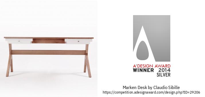Marken Desk ເຄື່ອງເຟີນີເຈີໂຕະເຮືອນ