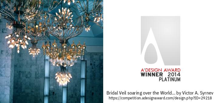 Bridal Veil Chandelye A