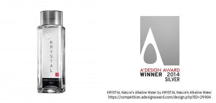 KRYSTAL Nature's Alkaline Water Ufungaji