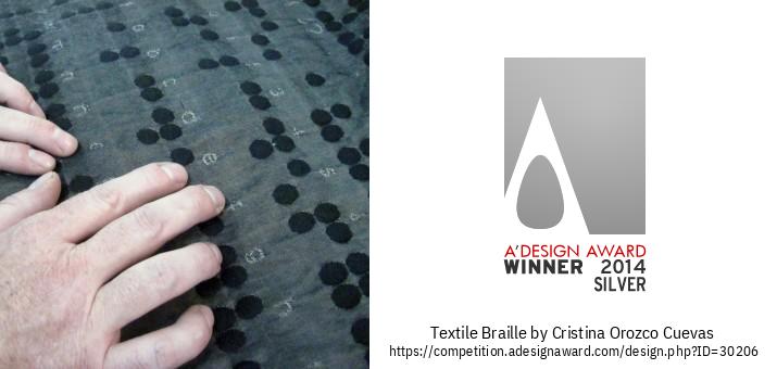 Textile Braille טאַקטיל שטאָף
