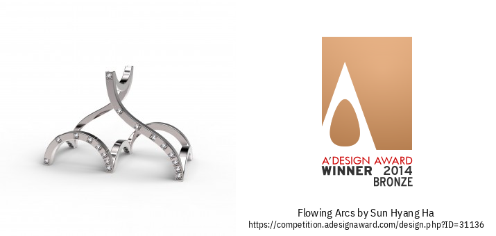 Flowing Arcs L'anello