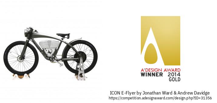 ICON E-Flyer Велосипедронии Электрикӣ