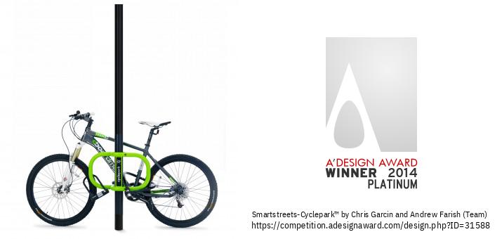 Smartstreets-Cyclepark™ L-Ipparkjar Bir-Rota Trasformattiv