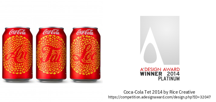 Coca-Cola Tet 2014 Ang Soft Drinks Packaging