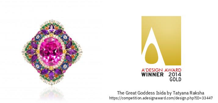 The Great Goddess Isida 鑽石戒指