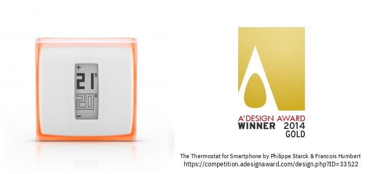 The Netatmo Thermostat for Smartphone الترموستات المنزلي الفردي