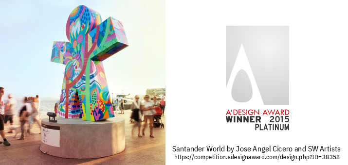 Santander World Urbane Skulpturer