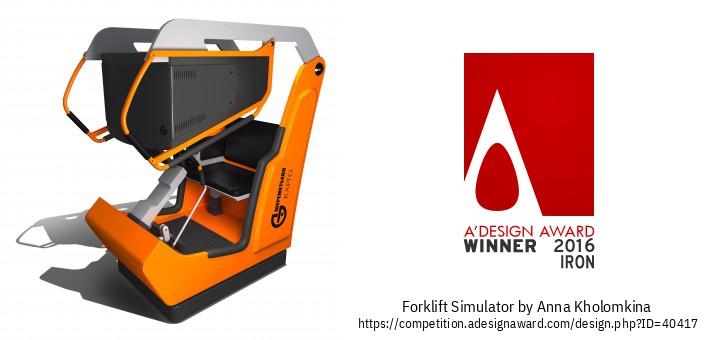 Forklift simulator Жүктөгүч Оператору Үчүн Тренажер