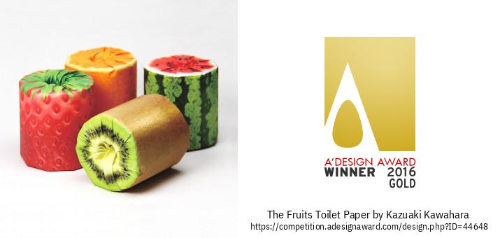 The Fruits Toilet Paper Embalaža
