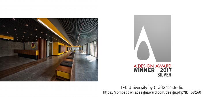 TED University ການອອກແບບພາຍໃນມະຫາວິທະຍາໄລ