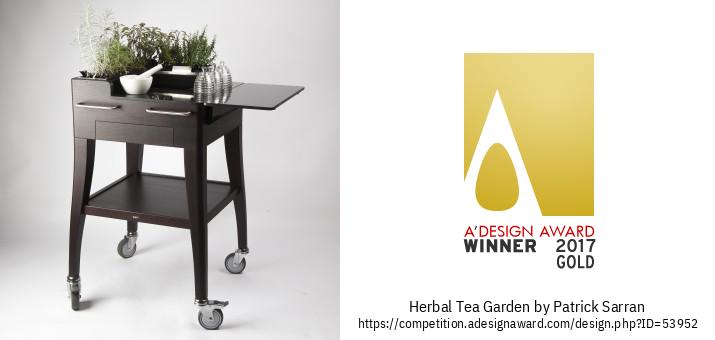 Herbal Tea Garden Storitev Toplega Napitka S Svežimi Rastlinami