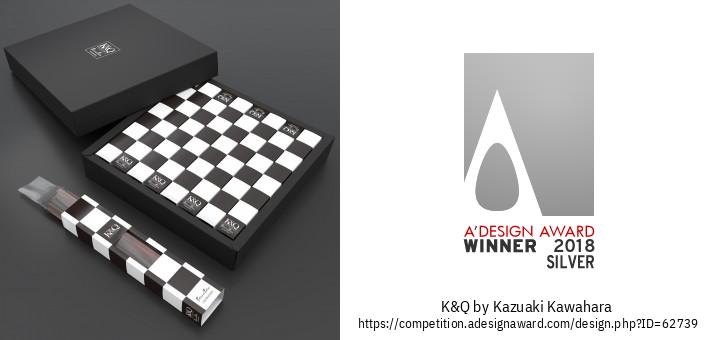 K & Q Упаковка Торта Шахматной Палочки