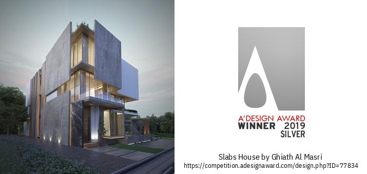 Slabs House Բնակելի Տունը