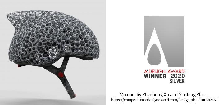 Voronoi Κράνος Ποδηλάτου