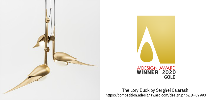 Lory Duck Chandelier