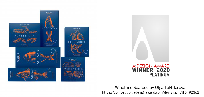 Winetime Seafood El Packaging