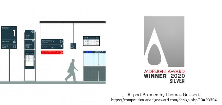 Airport Bremen Wayfinding System