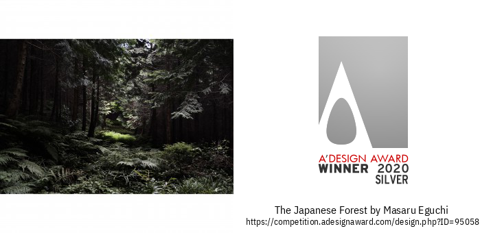 The Japanese Forest Fotografia