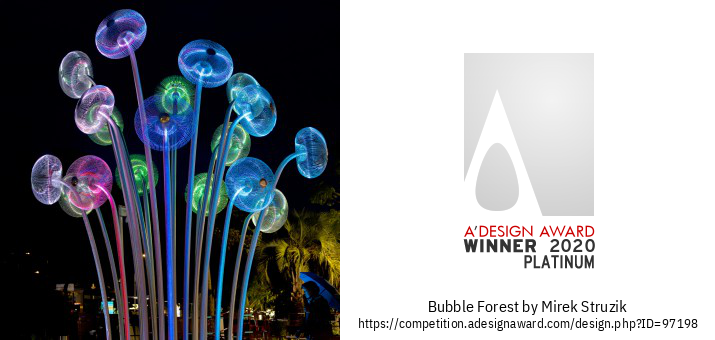 Bubble Forest Publika Skulptaĵo