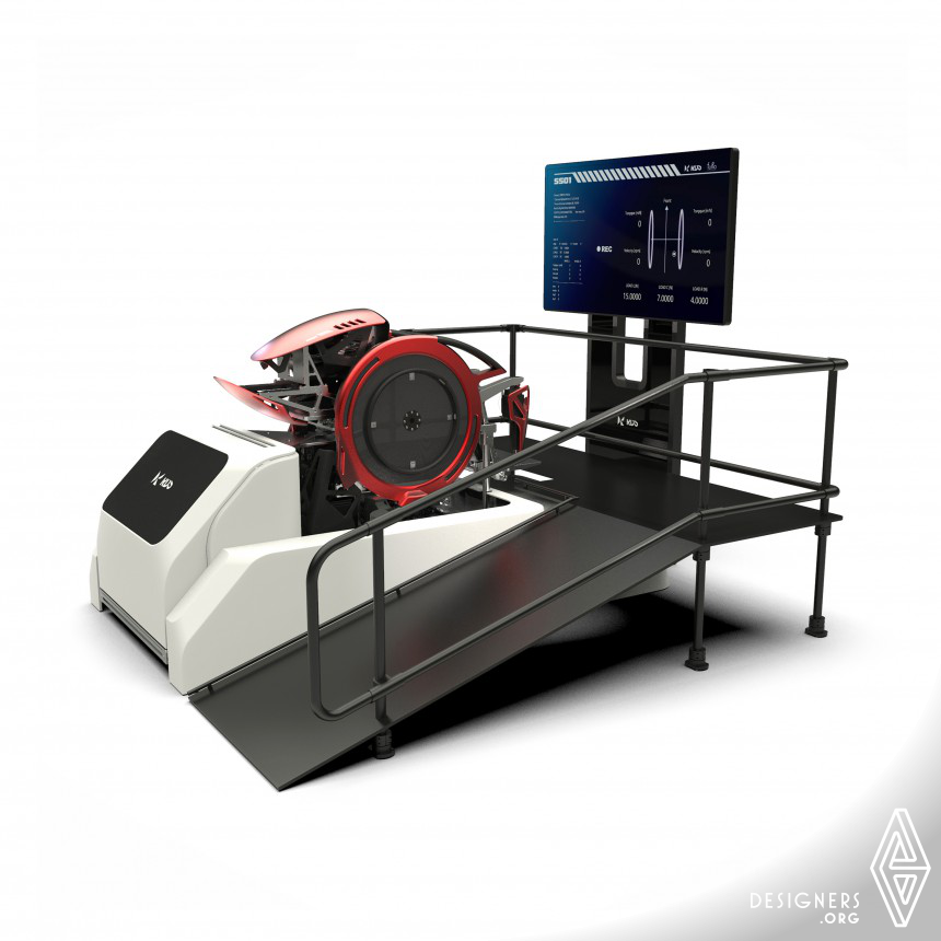 SS01 Wheelchair Simulation System