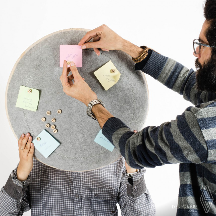 Inspirational Planner Clock Design