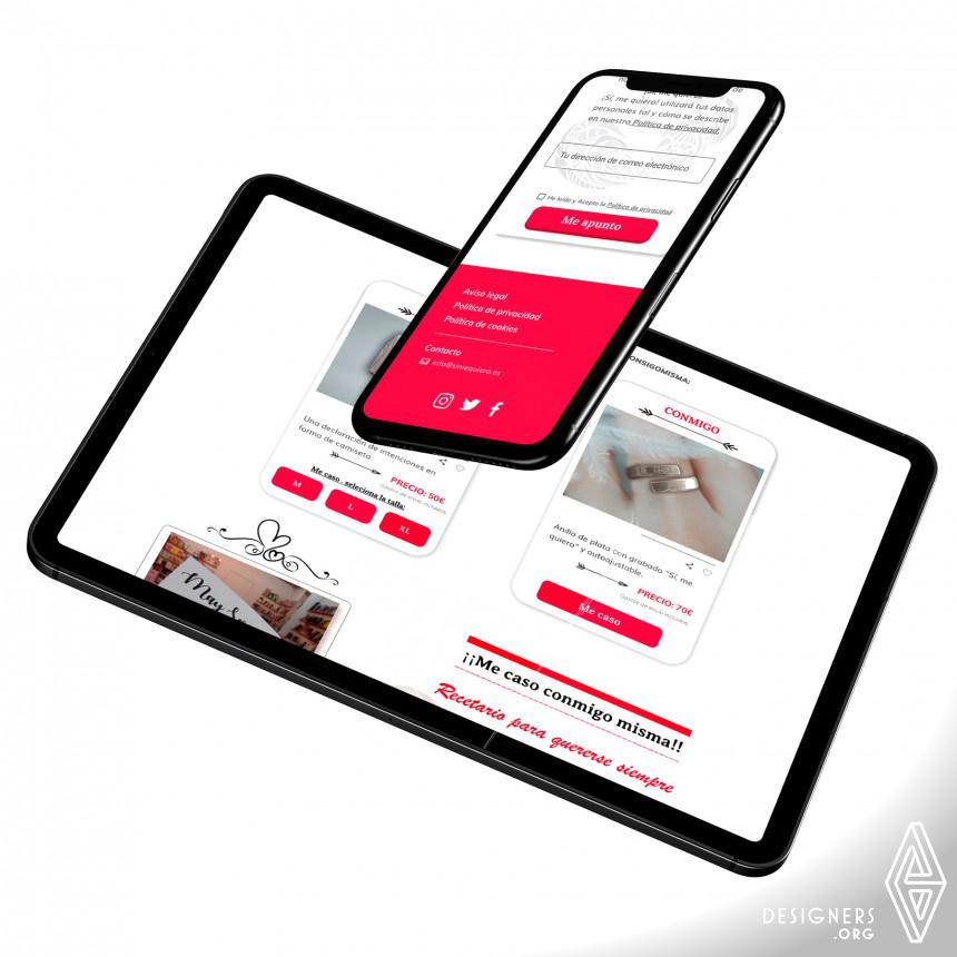 Si Me Quiero Web Design and UX Image