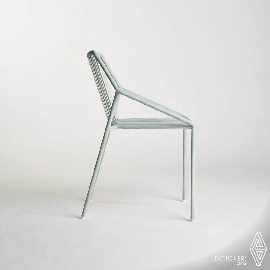 Inspirational Outdoor Metallic Chair Design