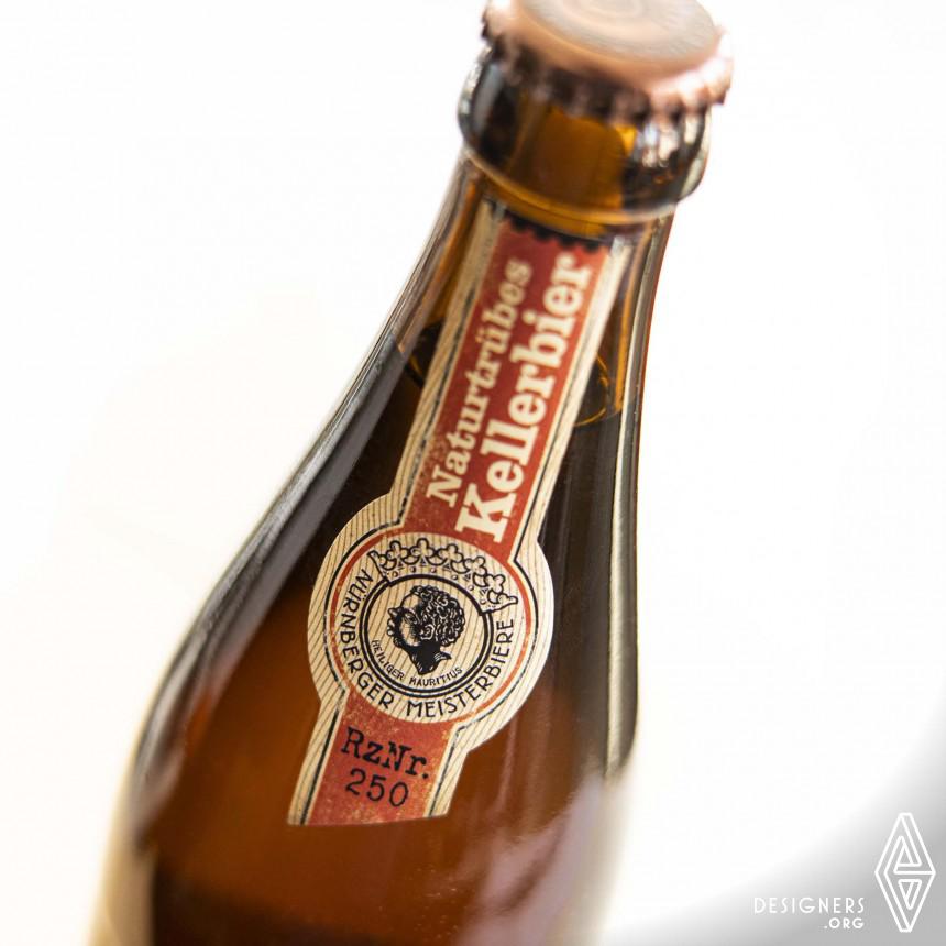AEcht Nuernberger Kellerbier Bavarian Beer Packaging Design Image