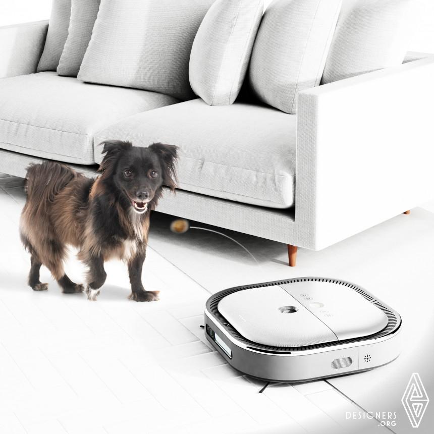 Inspirational Pet Care Robot Design