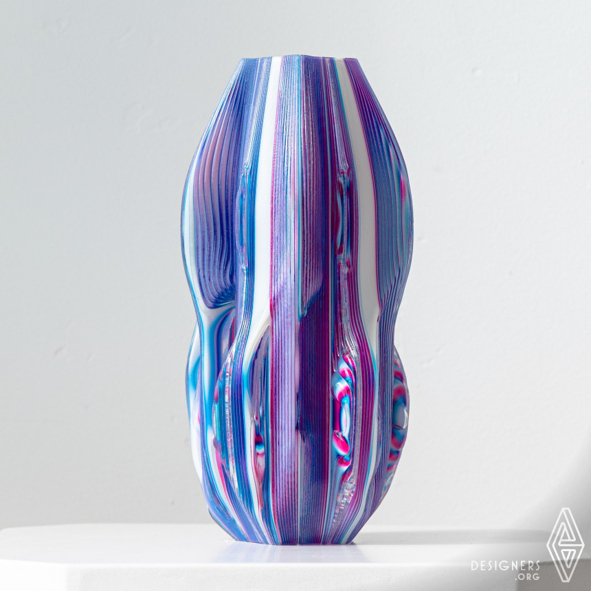 Unream Voxel Printed Lamp